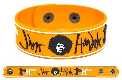 JIMI HENDRIX Rubber Bracelet Wristband Are You Experienced