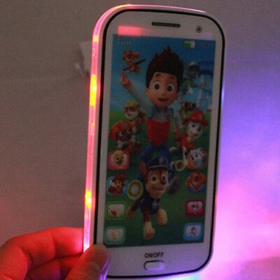 US Kids Toy Phone Educational Story English Language Learning Toy Cellphone