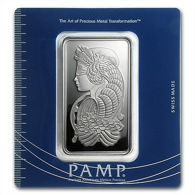 Pamp Suisse Rose Rosa 1 Oz 999 Silver Bar In Assay 163