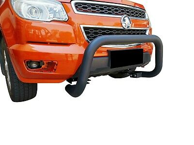 Black Bullbar Nudge Bar Grille Bumper Guard for Holden Colorado RG 2012-17 G