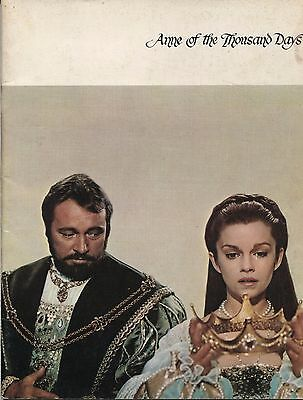 Anne of the Thousand Days (1969) - Original Programme - Richard Burton