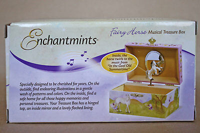Breyer Reeves Enchantmints Fairy Horse Musical Treasure Box, New Factory Sealed!