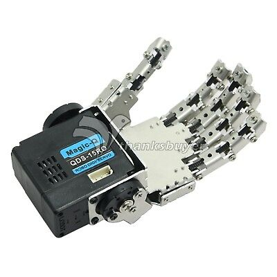Robot Humanoid Five Fingers Anthropomorphic Left Hand with Servo for Robot DIY