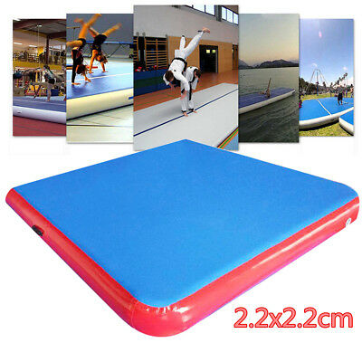 Inflatable Mat Air Track Tumbling Floor Gymnastics Practice Training Pad Gym New