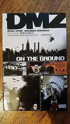 DMZ: volume 1: On the Ground by Brian Wood (Paperback, 2010) Graphic Novel