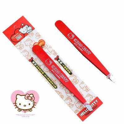 Professional Stainless Steel  Hello Kitty Eyebrow Tweezer Cosmetic Hair Removal