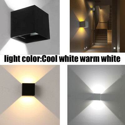 LED Wall Light 12W Cool/warm White Sconce Modern Families Lamp Exterior 240V
