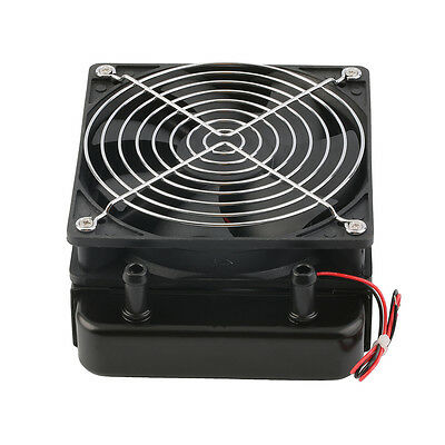 120mm Water Cooling CPU Cooler Row Heat Exchanger Radiator with Fan for PC W6