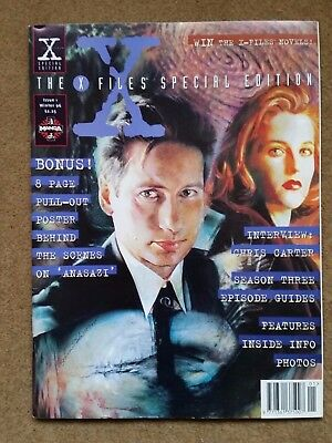 THE X-FILES Magazine/Comic - SPECIAL EDITION - Issue No 1 - Winter 1996 Manga
