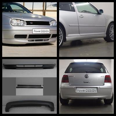 Body kit VW GOLF IV 4 MK4 25th ANNIVERSARY ABS Plastic without exhaust holes