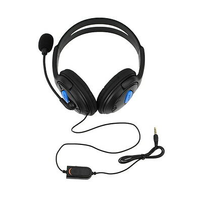 Wired Gaming Headset Headphones with Microphone for Sony PS4 PlayStation WH