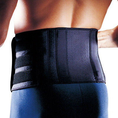 LP 727 CA Back Lumbar Support Double Pull 4 Stays Sciatica Posture Brace Pain