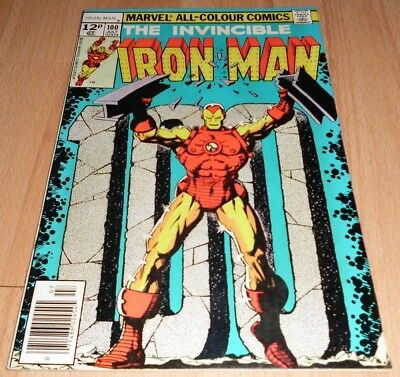 Iron Man (1968 1st Series) #100....Published July 1977 by Marvel.