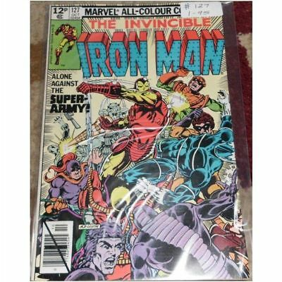 Iron Man (1968 1st Series) #127....Published October 1979 by Marvel.