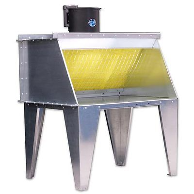 6' Bench Type Paint Spray Booth - Made by Paasche in the US- (NEW)