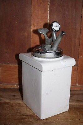 1931 vanilla syrup dispenser Walrus MFG CO. Decatur IL soda fountain