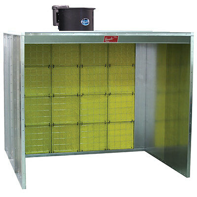 Paasche Walk-in Paint Spray Booth 6' Wide x 7' High - Made in The USA (NEW)