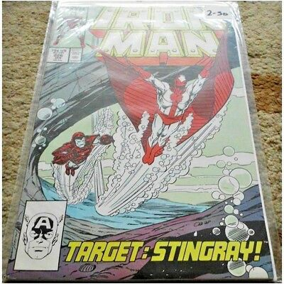 Iron Man (1968 1st Series) #226...Published January 1988 by Marvel.