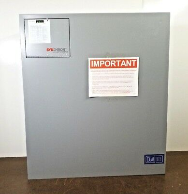 New Dual Lite Dls-750-277-B2001 Single-Phase Central Lighting Inverter Hubbell
