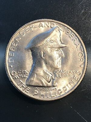 1947 PHILIPPINES SILVER ONE PESO, 10/17/17, Free Shipping