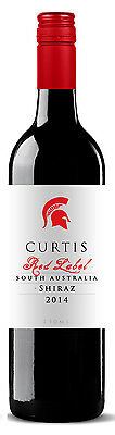 Curtis Red Label South Australian Shiraz 2015