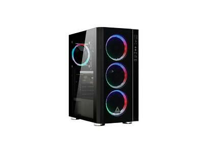 BUDGET STARTER 10 Core AMD Custom LED gaming PC tower Play ALL BASIC GAMES 8GB