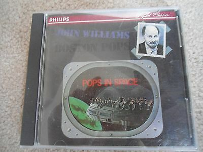 Pops in Space by John Williams (Film Composer)/ Boston Pops Orchestra CD