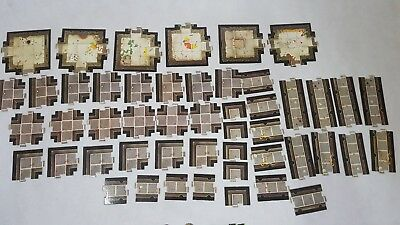 Space Hulk 1st Edition - Full set Floor Tiles - rooms, corridors [ENG, 1989]