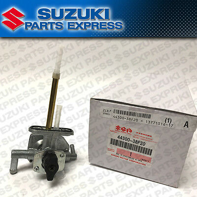 New 2004 - 2006 Suzuki Lt-A Lt-F 400 Eiger Oem Fuel On Off Petcock 44300-38F20