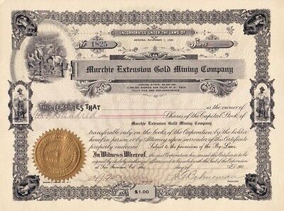 Murchie Extension Gold Mining Company