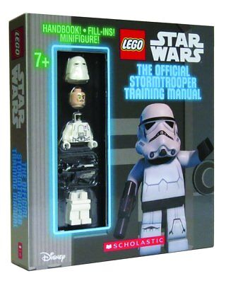 LEGO STAR WARS THE OFFICIAL STORMTROOPER HANDBOOK With Minifigure
