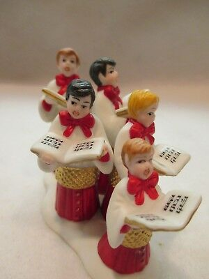 """Dept 56 Heritage Village """"Choirboys All in a Row""""  #56 58892"""