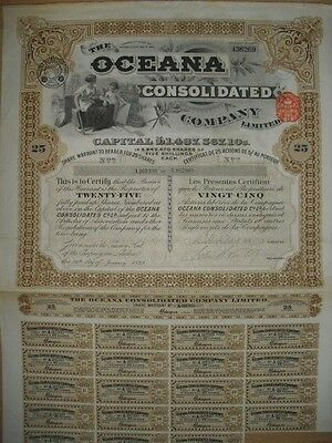 Oceana Consolidated Company   London  1929