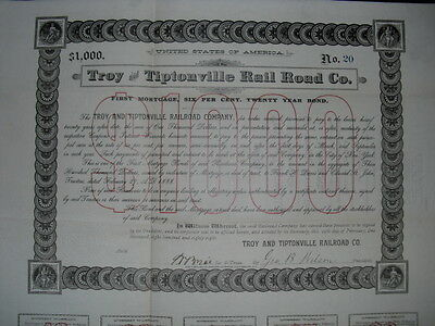 Troy and Tiptonville Railroad  1888