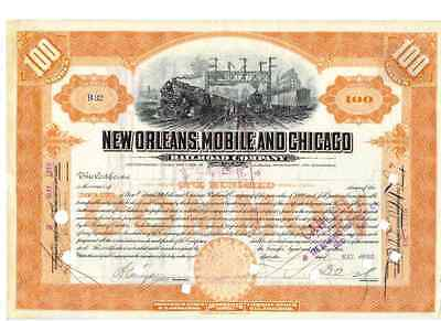 New Orleans Mobile and Chicago Railroad Company  1910
