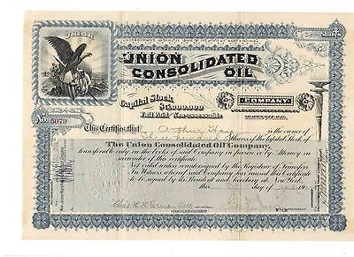Union Consolidated Oil Company 1902