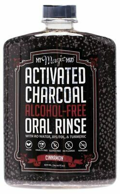 Charcoal Oral Rinse - Cinnamon 420ml - My Magic Mud