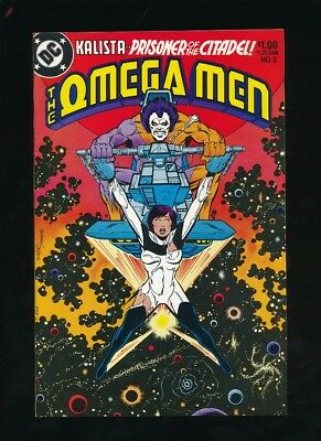 Omega Men #3 D.c. Comics 6/1983 First Appearance Of Lobo **unpressed**