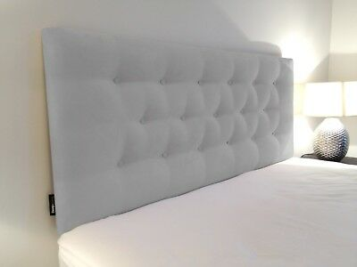 DIAMOND LOW RISE Upholstered Bedhead / Headboard for Ensemble Bed