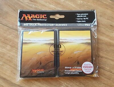 Ultra Pro Deck Protector Sleeves - 80 pack - Plains Mana 5 White - MTG