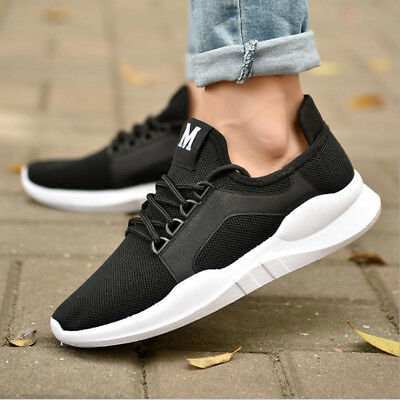 Men's Casual Sneakers Outdoor Sports Running Breathable Training Athletic Shoes