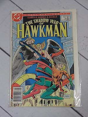 DC The Shadow war of Hawkman #3 July 85 Bagged and Boarded - C1132
