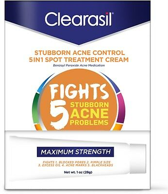 Clearasil StayClear Tinted Acne Treatment Cream 1 Ounce