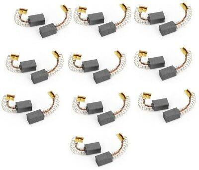 20Pcs Generic Electric Motor Replacing Carbon Brushes 12mm x 7mm x 6mm