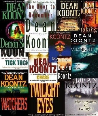 Dean Koontz Series Complete Collection 57 Audiobooks Mp3.