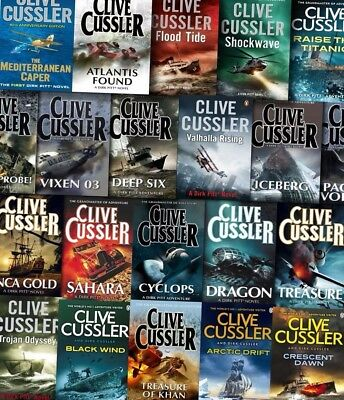 21 Audiobook - TheDirk Pitt Series by Clive Cussler Complete Collection MP3-DVD