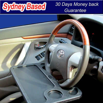 Car Steering Wheel Tray Holder Laptop Notebook  Writing Desk Food Holder Table
