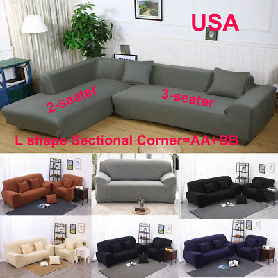 STRETCH ALL COVER Slipcover Couch Cover For 1 2 3 Seater ...
