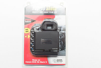 New Genuine Delkin Canon Eos 5D Mark Ii Lcd Screen Pop Up Screen Protector Shade