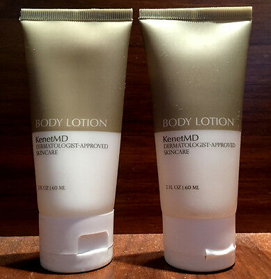 Brand New Lot Of 2 Kenet Md-Kenetmd Lotion 2 Oz Each Extra Large Double Size